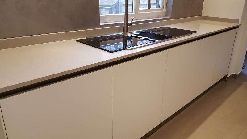 Schmidt Kitchen | Cucine Arredo 3 White Matt Lacquer Kitchen