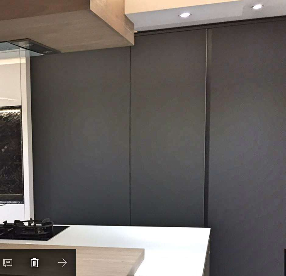 Ex Display Designer Kitchens For Sale Concept: Brand New Rotpunkt Carbon Grey & White XT Kitchen With