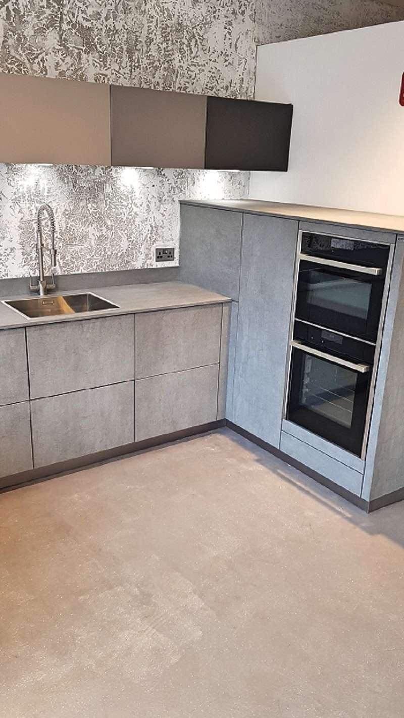 Alno Cera Alno Star Kitchen Concretto Ceramic Matt Grey Units - Matt grey kitchen units
