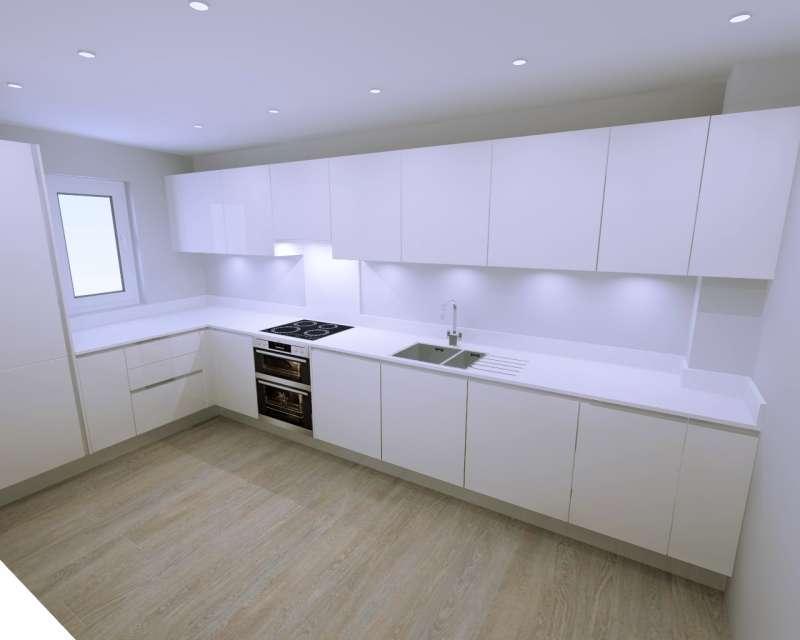 Modern Hacker NEO Classic Shiny White Kitchen (00240)