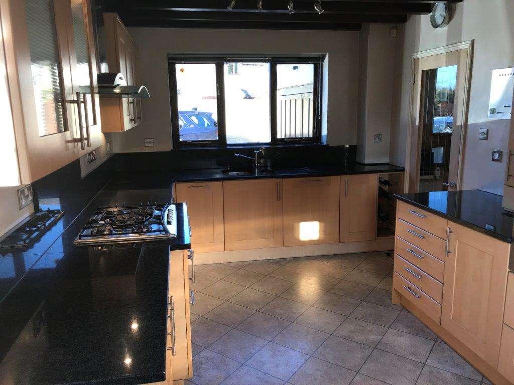 Shaker Wood Effect Kitchen Granite Worktops Appliances
