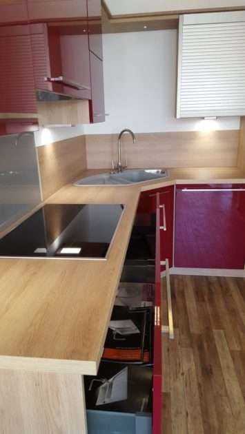 Schmidt Arcos Red Oak Kitchen