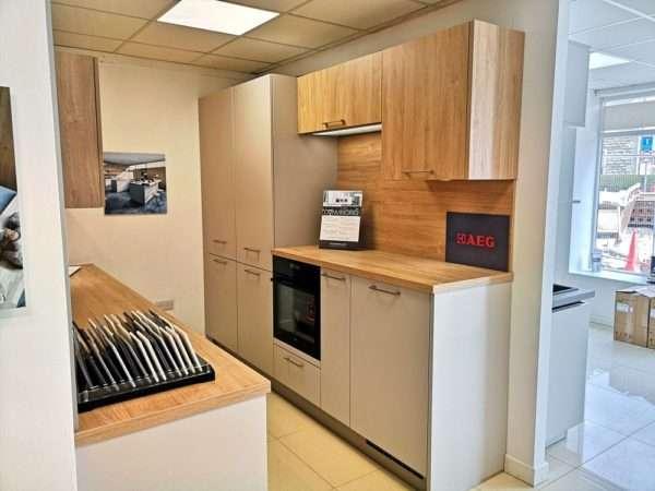 Schuller Nova Sand Grey Kitchen