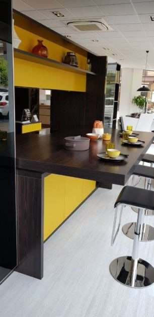 Ex Display Kitchen Ochre & Oak Kitchen with Appliances