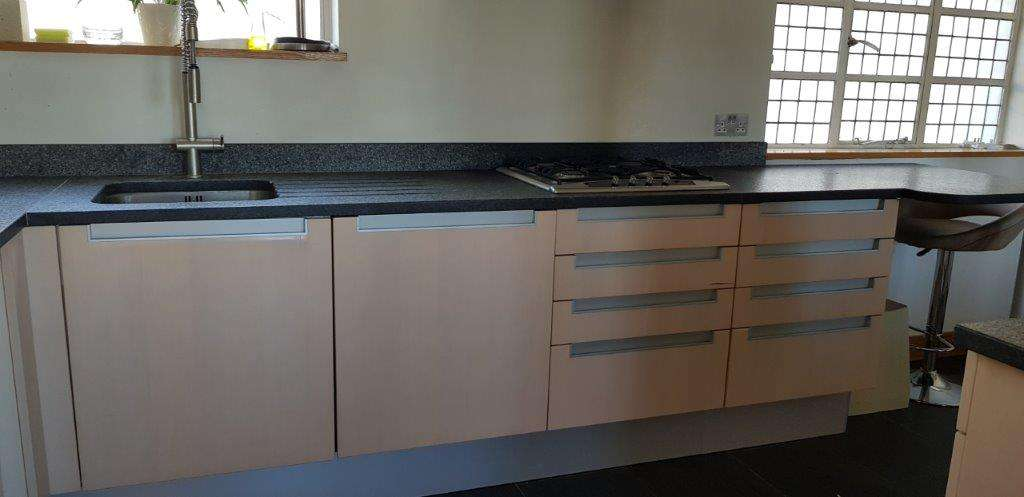 Poggenpohl Kitchen with Stone Worktops and Appliances (2