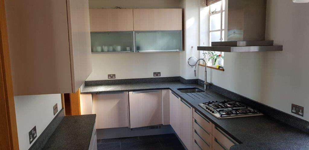 Poggenpohl Kitchen with Grey Stone Worktops and Appliances **SALE**  (1018447)