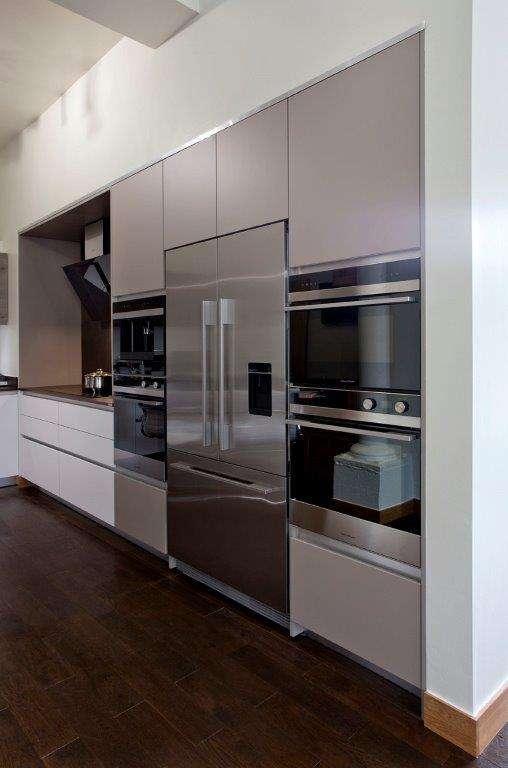 Pyram Ex Display Kitchen White Matt Modern Dekton Kadum