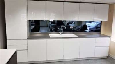 Bauformat White Gloss Kitchen