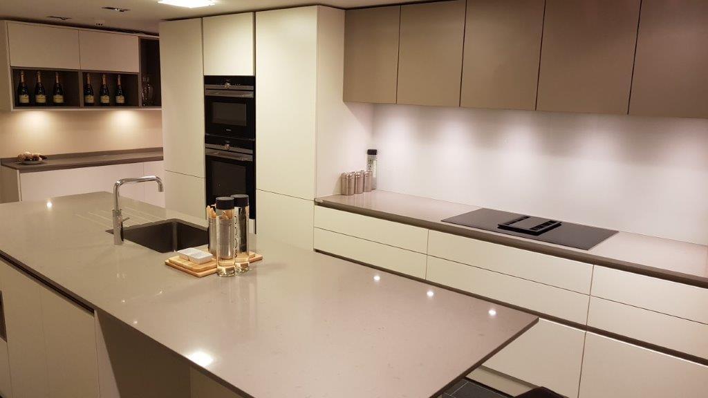 Goldreif By Poggenpohl Kitchen White Fango Grey