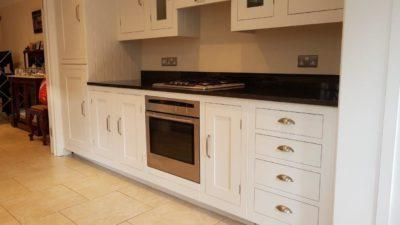 Harvey Jones Handpainted White Wood Doors Inframe Shaker Kitchen