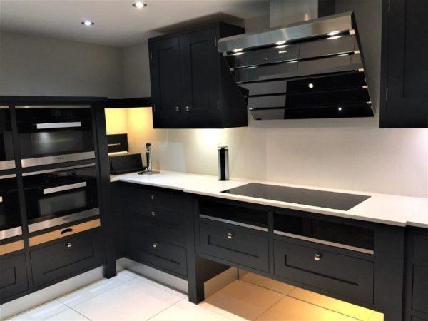 Loxley by Sherwood of Nottingham Premier Handpainted Matt Railings Shaker Kitchen