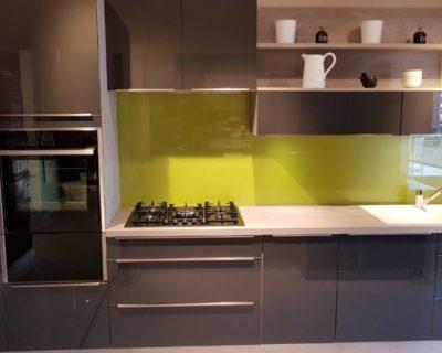 Ex Display Mobalpa Melia Kitchen Varnished Graphite (