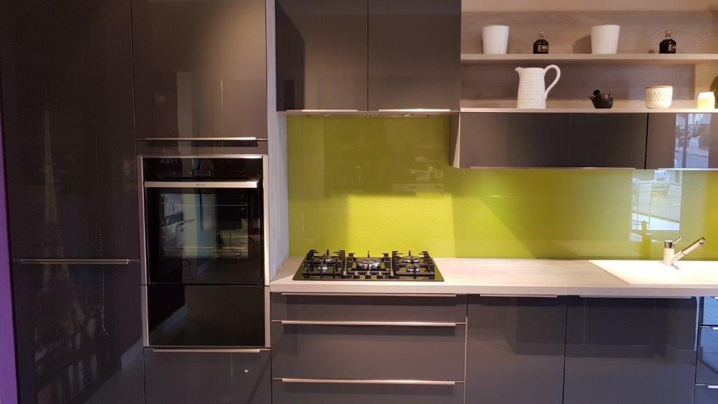 Ex Display Mobalpa Melia Kitchen Varnished Graphite