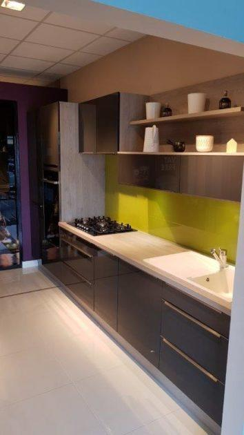 Ex Display Mobalpa Melia Kitchen Varnished Graphite