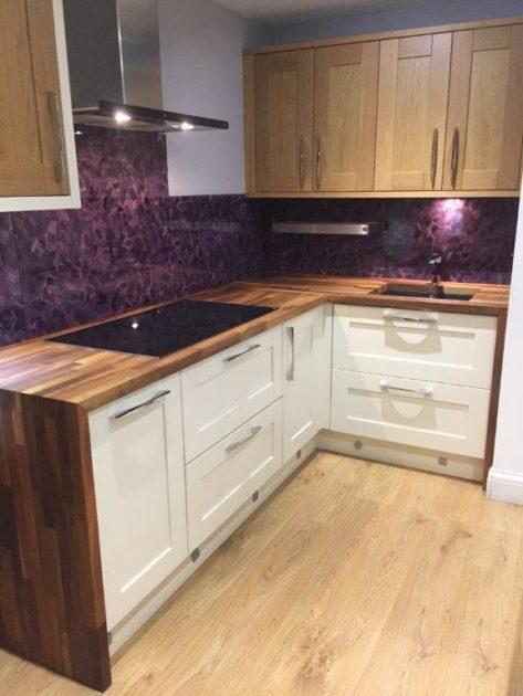 Stori Madison Oak & Ivory U Form Kitchen