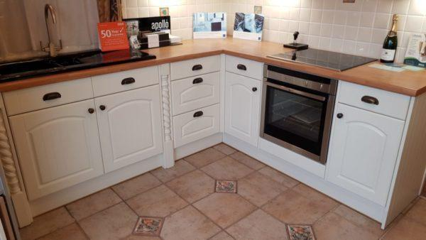 Ex Display Crown Imperial Shaker Kitchen