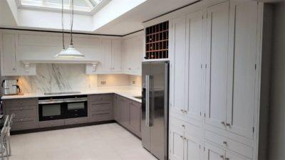 oundhouse Classic Maple Wood Handpainted Kitchen