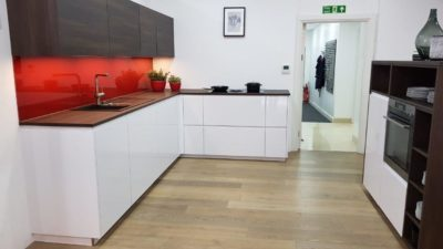 Nolte High Gloss Artic White Alpha Kitchen