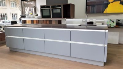 Nolte Kitchen 1 Papyrus Grey Soft Matt & Walnut Royal
