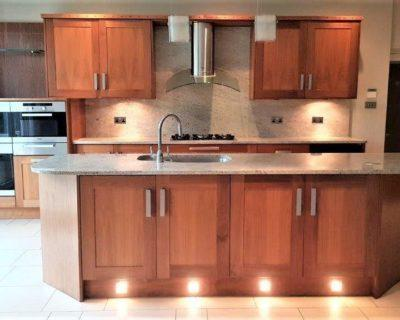 Mowlem & Co Kitchen Wood Shaker Kitchen with Granite Worktops Miele Worktops