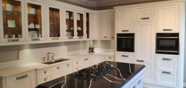 Waterford Interiors Tulip Wood Inframe Hand Painted Kitchen,