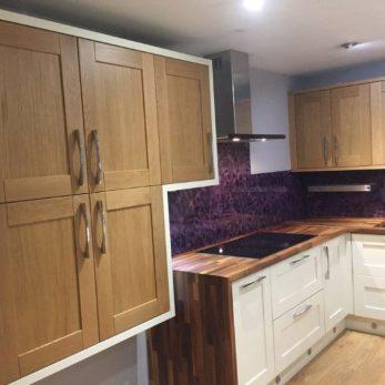 Stori-Madison-Oak-Ivory-U-Form ex display Kitchen
