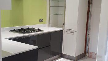Hacker Classic Grey Gloss Kitchen
