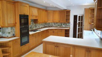 Bespoke Oak Shaker Kitchen