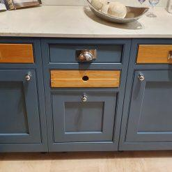 Handmade Blue Aishling Wood Dresser