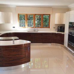Composit Maxima Gloss Lacquer Handleless Ivory Kitchen