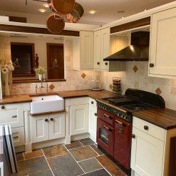 Ex Display Stori Solid Wood Painted Shaker Kitchen