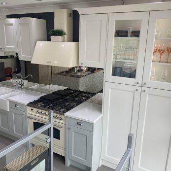 Ex Display Second Nature Dove Grey Kitchen Appliances Silestone Worktops