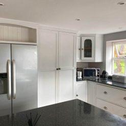 Grey & Dark Grey Handpainted Inframe Shaker Oak Kitchen