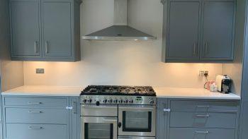 Magnet Grey kitchen & Island
