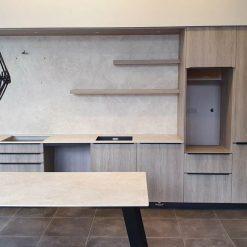 Schmidt Arcos Matt Iceland Wood Effect Kitchen