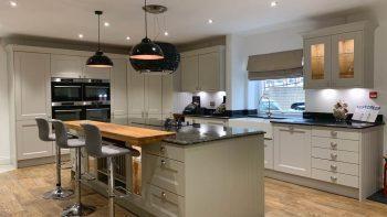 Ex Display Mackintosh Mannor House Kitchen & Island
