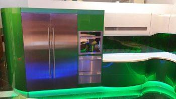 Italian Candy Apple Pearlescent Green Kitchen