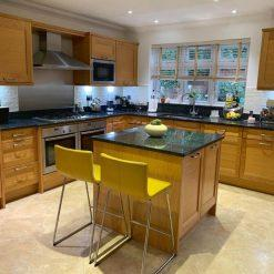 Used Stoneham Kitchen with island