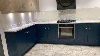 Ex Display Mackintosh Solid Timber Shaker Painted Kitchen
