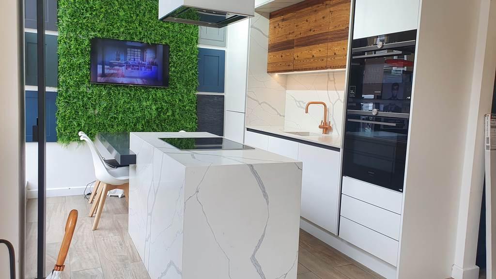 Ex Display Second Nature Porter Handleless Kitchen Used Kitchen Hub