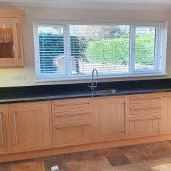 Howdens Inframe Wood Shaker Kitchen