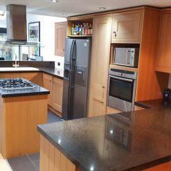 Inframe Shaker Wood Kitchen