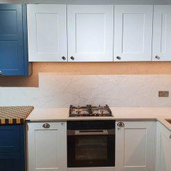 Second Nature Hunton Blue & Fitzroy Porcelein Lacquered Kitchen