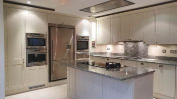 Handpainted Wood Inframe Shaker kitchen