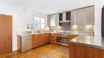 Bespoke Stainless Steel & Wood effect Kitchen & Appliances