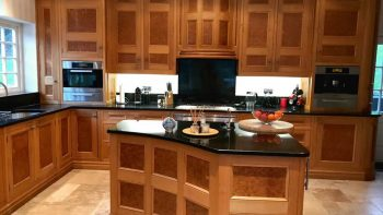 Large Wooden Luxury Hand Made In-Frame Kitchen