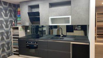 Grey Gloss Veneta Cucina Kitchen
