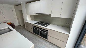 Pronorm Ivory Beige & Cream Handless Kitchen & Island
