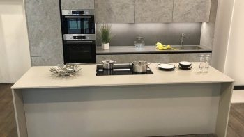 Ex Display Milton Menta Kitchen with Island