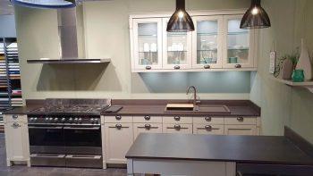 Ex Display Schmidt Bolero Shaker Solid Oak Ash Veneer Kashmir Kitchen